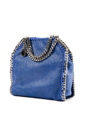 STELLA McCARTNEY: borse a tracolla online - Tracolla Tiny Falabella color bluebird
