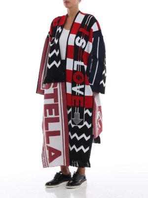 STELLA McCARTNEY: cappotti lunghi online - Cappotto asimmetrico All is Love