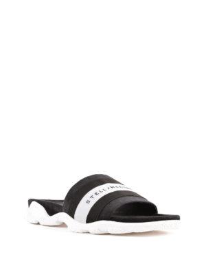 STELLA McCARTNEY: sandali online - Sandali ciabatta con fascia logo