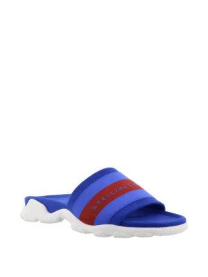 STELLA McCARTNEY: sandali online - Sandali ciabatta con fascia a righe