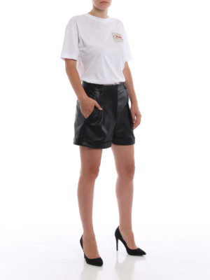 STELLA McCARTNEY: t-shirt online - T-shirt con patch Stella All is Love
