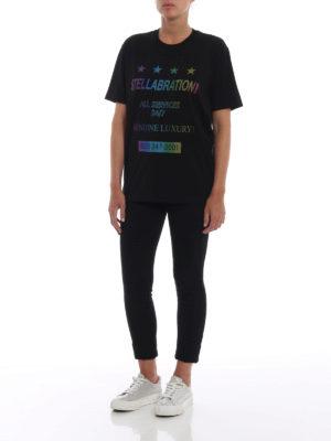 STELLA McCARTNEY: t-shirt online - T-shirt Stellabration! nera