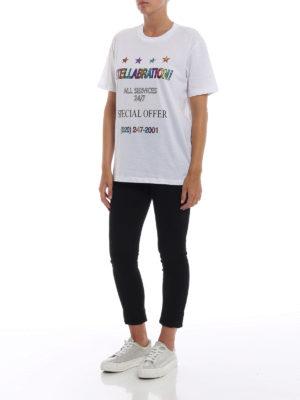STELLA McCARTNEY: t-shirt online - T-shirt Stellabration! bianca