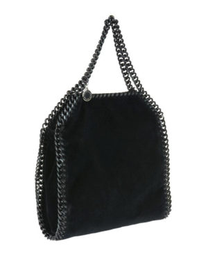 STELLA McCARTNEY: shopper online - Tote Falabella Mini in velluto nero