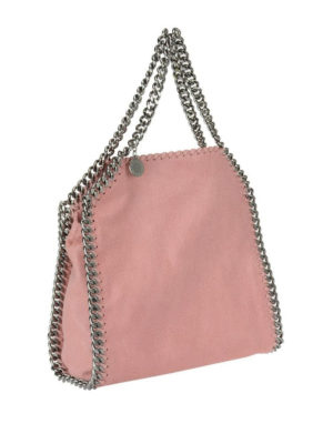 STELLA McCARTNEY: shopper online - Falabella Mini rosa in shaggy deer