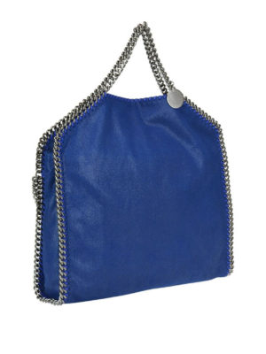 STELLA McCARTNEY: shopper online - Borsa Fold Over Falabella in shaggy deer