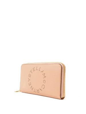 STELLA McCARTNEY: portafogli online - Portafoglio Stella Logo cipria