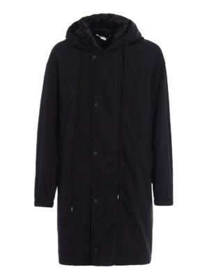 Stella Mccartney: padded coats - Olea techno fabric over parka