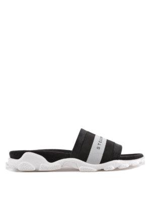 STELLA McCARTNEY: sandali - Sandali ciabatta con fascia logo