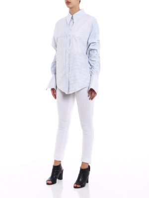 Stella Mccartney: shirts online - Thandie ovesized cotton shirt