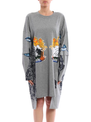 Stella Mccartney: short dresses online - Sweatshirt style mini dress