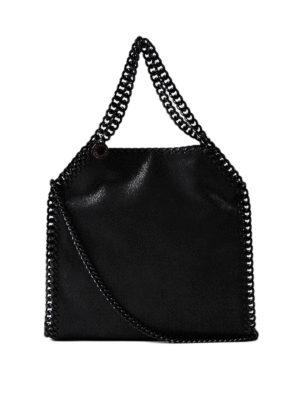Stella Mccartney: shoulder bags - Falabella shaggy deer mini bag