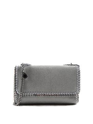 Stella Mccartney: shoulder bags - Falabella shaggy deer shoulder bag