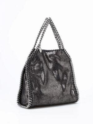 Stella Mccartney: shoulder bags online - Falabella shiny mini tote
