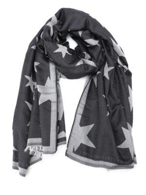Stella Mccartney: Stoles & Shawls - Jacquard silk blend stole
