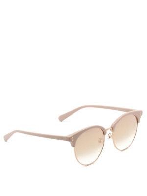 Stella Mccartney: sunglasses - Acetate frame round sunglasses