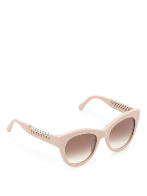 Stella Mccartney: sunglasses - Falabella cat eye sunglasses