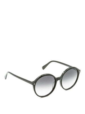 Stella Mccartney: sunglasses - Gradient lenses round sunglasses