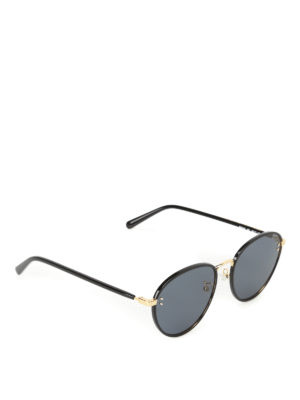 Stella Mccartney: sunglasses - Grey lenses black sunglasses