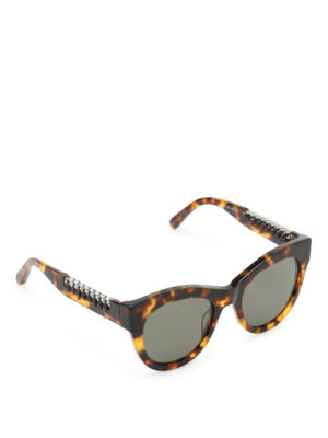 Stella Mccartney: sunglasses - Havana Falabella