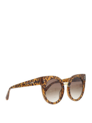 STELLA McCARTNEY: occhiali da sole - Occhiali da sole over leopardati
