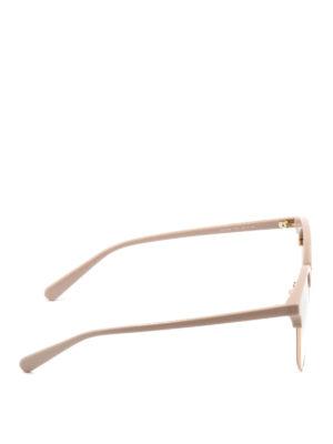 Stella Mccartney: sunglasses online - Acetate frame round sunglasses
