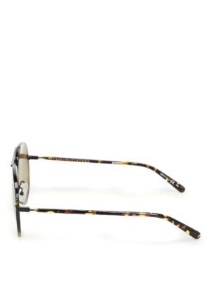 Stella Mccartney: sunglasses online - Dark green lenses havana sunglasses