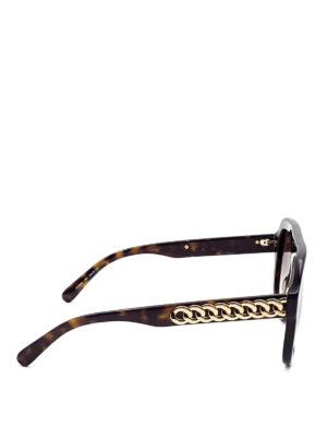 Stella Mccartney: sunglasses online - Golden chains sunglasses