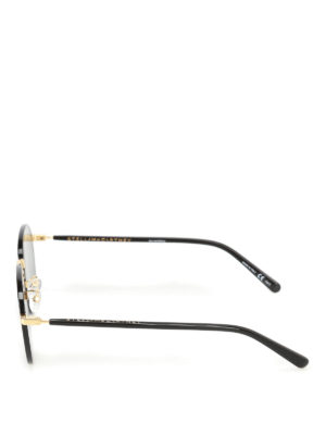 Stella Mccartney: sunglasses online - Grey lenses black sunglasses