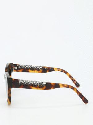 Stella Mccartney: sunglasses online - Havana Falabella
