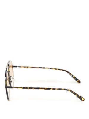 Stella Mccartney: sunglasses online - Havana round sunglasses