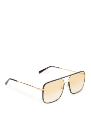 Stella Mccartney: sunglasses - Shaded orange lenses sunglasses