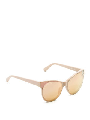 Stella Mccartney: sunglasses - Star detailed acetate sunglasses