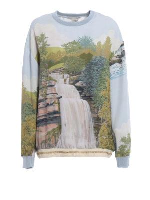 Stella Mccartney: Sweatshirts & Sweaters - Ines landscape print sweatshirt