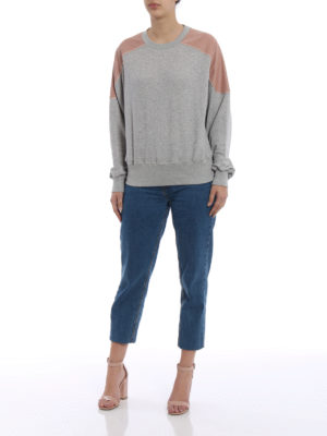Stella Mccartney: Sweatshirts & Sweaters online - Drawstring detail cotton sweatshirt
