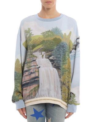 Stella Mccartney: Sweatshirts & Sweaters online - Ines landscape print sweatshirt