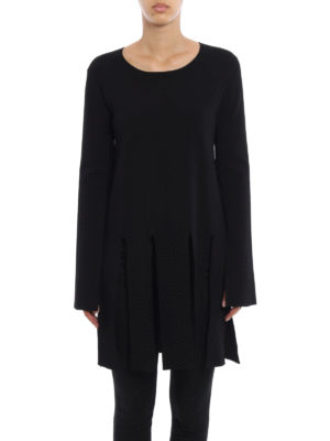 Stella Mccartney: Sweatshirts & Sweaters online - Maxi fringes viscose sweater