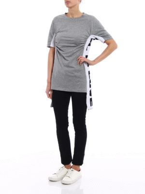 Stella Mccartney: t-shirts online - Knitted side bands T-shirt