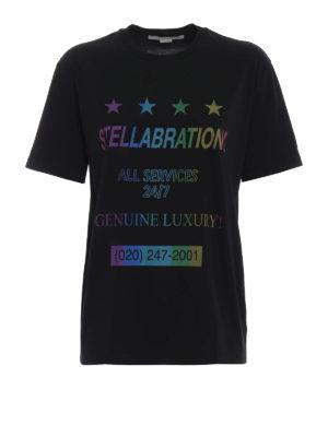 STELLA McCARTNEY: t-shirt - T-shirt Stellabration! nera