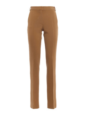 Stella Mccartney: Tailored & Formal trousers - Jodi wool tailored trousers