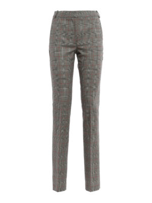 Stella Mccartney: Tailored & Formal trousers - Jody Prince of Wales wool trousers