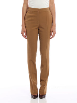 Stella Mccartney: Tailored & Formal trousers online - Jodi wool tailored trousers