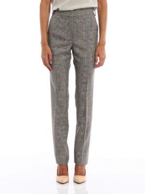 Stella Mccartney: Tailored & Formal trousers online - Jody Prince of Wales wool trousers