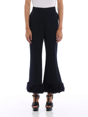 Stella Mccartney: Tailored & Formal trousers online - Malina-Fur Free Fur trousers