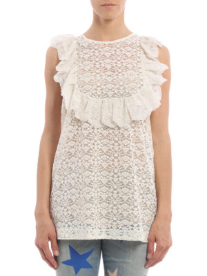Stella Mccartney: Tops & Tank tops online - Romantic lace tank top