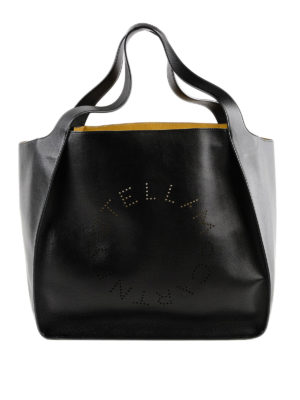 STELLA McCARTNEY: shopper - Borsa shopping E/W con interno a contrasto