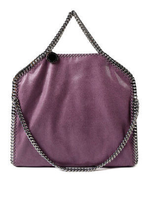 Stella Mccartney: totes bags - Falabella amethyst fold over bag