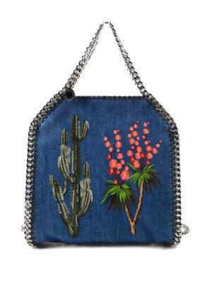 Stella Mccartney: totes bags - Falabella eco cotton mini tote