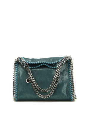 Stella Mccartney: totes bags - Falabella shimmering mini bag
