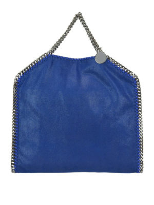 STELLA McCARTNEY: shopper - Borsa Fold Over Falabella in shaggy deer